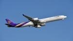 flytaka78さんが、成田国際空港で撮影したタイ国際航空 A340-642の航空フォト(飛行機 写真・画像)