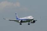 こしたくさんが、成田国際空港で撮影した全日空 A320-271Nの航空フォト(写真)