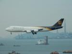 kiyohsさんが、香港国際空港で撮影したUPS航空 747-8Fの航空フォト(飛行機 写真・画像)