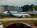 kiyohsさんが、ペインフィールド空港で撮影したホライゾン航空 ERJ-170-200 LR (ERJ-175LR)の航空フォト(飛行機 写真・画像)