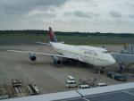 kiyohsさんが、成田国際空港で撮影したデルタ航空 747-451の航空フォト(飛行機 写真・画像)
