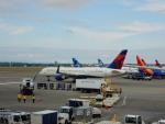 kiyohsさんが、シアトル タコマ国際空港で撮影したデルタ航空 757-2Q8の航空フォト(飛行機 写真・画像)