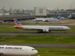 kiyohsさんが、羽田空港で撮影したアメリカン航空 777-323/ERの航空フォト(飛行機 写真・画像)