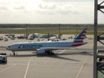 kiyohsさんが、フランクフルト国際空港で撮影したアメリカン航空 777-223/ERの航空フォト(飛行機 写真・画像)