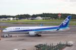 代打の切札さんが、成田国際空港で撮影した全日空 767-381/ERの航空フォト(写真)