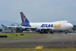 デルタおA330さんが、横田基地で撮影したアトラス航空 747-47UF/SCDの航空フォト(写真)