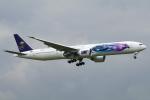 chrisshoさんが、ロンドン・ヒースロー空港で撮影したサウディア 777-368/ERの航空フォト(写真)