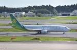 東空さんが、成田国際空港で撮影した春秋航空日本 737-81Dの航空フォト(写真)