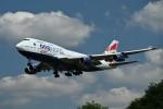 nobu2000さんが、ロンドン・ヒースロー空港で撮影したブリティッシュ・エアウェイズ 747-436の航空フォト(写真)