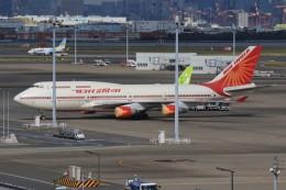 メンチカツさんが、羽田空港で撮影したエア・インディア 747-437の航空フォト(飛行機 写真・画像)