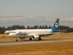 kiyohsさんが、シアトル タコマ国際空港で撮影したアラスカ航空 A320-214の航空フォト(飛行機 写真・画像)
