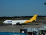 kiyohsさんが、成田国際空港で撮影したポーラーエアカーゴ 747-87UF/SCDの航空フォト(飛行機 写真・画像)