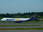 kiyohsさんが、成田国際空港で撮影したアトラス航空 747-87UF/SCDの航空フォト(飛行機 写真・画像)