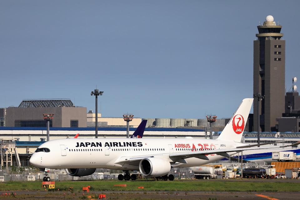take_2014さんの日本航空 Airbus A350-900 (JA01XJ) 航空フォト