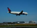 kiyohsさんが、成田国際空港で撮影したデルタ航空 777-232/ERの航空フォト(飛行機 写真・画像)
