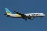 採れたてほしいもさんが、新千歳空港で撮影したAIR DO 767-381/ERの航空フォト(写真)