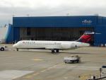 kiyohsさんが、シアトル タコマ国際空港で撮影したデルタ航空 717-2BDの航空フォト(飛行機 写真・画像)