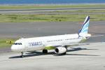 どんちんさんが、中部国際空港で撮影したエアプサン A321-131の航空フォト(写真)