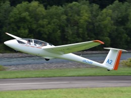とびたさんが、当麻滑空場で撮影した日本個人所有 ASK 21の航空フォト(飛行機 写真・画像)