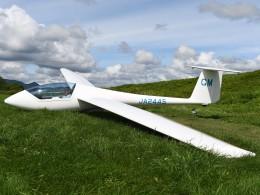 とびたさんが、当麻滑空場で撮影した日本個人所有 G102 Club Astir IIIbの航空フォト(飛行機 写真・画像)