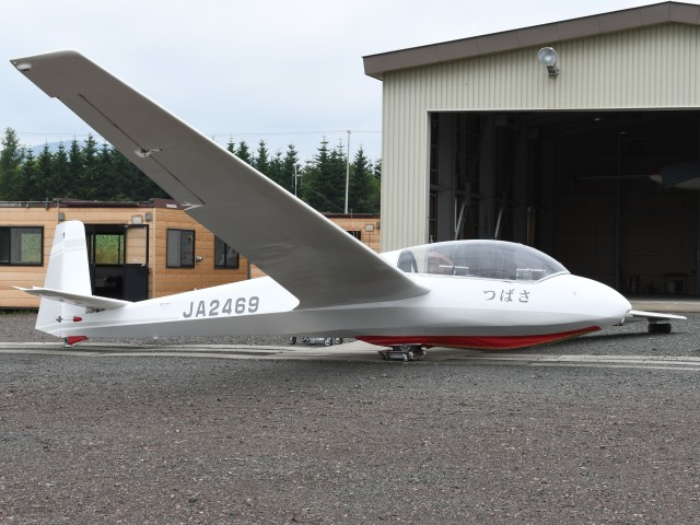 とびたさんが、スカイポートきたみで撮影した日本法人所有 ASK 13の航空フォト(飛行機 写真・画像)