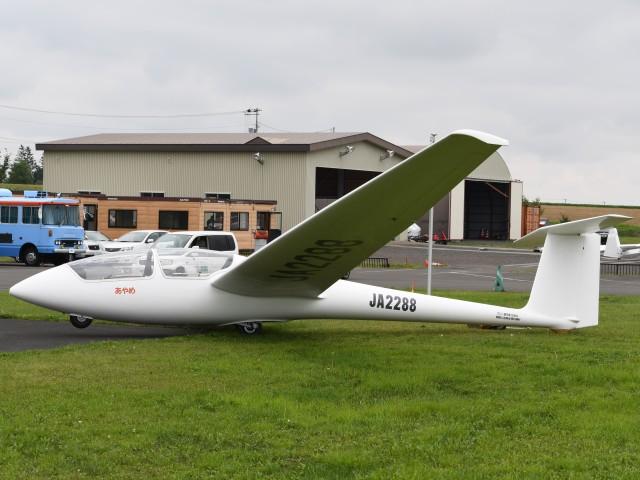 とびたさんが、スカイポートきたみで撮影した日本個人所有 ASK 21の航空フォト(飛行機 写真・画像)