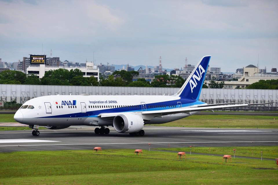 T.Sazenさんの全日空 Boeing 787-8 Dreamliner (JA821A) 航空フォト