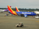 kiyohsさんが、シアトル タコマ国際空港で撮影したサウスウェスト航空 737-76Qの航空フォト(飛行機 写真・画像)