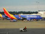 kiyohsさんが、シアトル タコマ国際空港で撮影したサウスウェスト航空 737-8H4の航空フォト(飛行機 写真・画像)