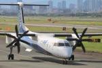 monjiro22001さんが、伊丹空港で撮影したANAウイングス DHC-8-402Q Dash 8の航空フォト(写真)