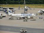 kiyohsさんが、フランクフルト国際空港で撮影したフィンエアー ERJ-190-100 LR (ERJ-190LR)の航空フォト(飛行機 写真・画像)