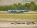 kiyohsさんが、マドリード・バラハス国際空港で撮影したブリュッセル航空 A320-214の航空フォト(写真)