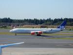 kiyohsさんが、成田国際空港で撮影したスカンジナビア航空 A340-313Xの航空フォト(写真)