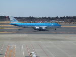 kiyohsさんが、成田国際空港で撮影したKLMオランダ航空 747-406Mの航空フォト(飛行機 写真・画像)