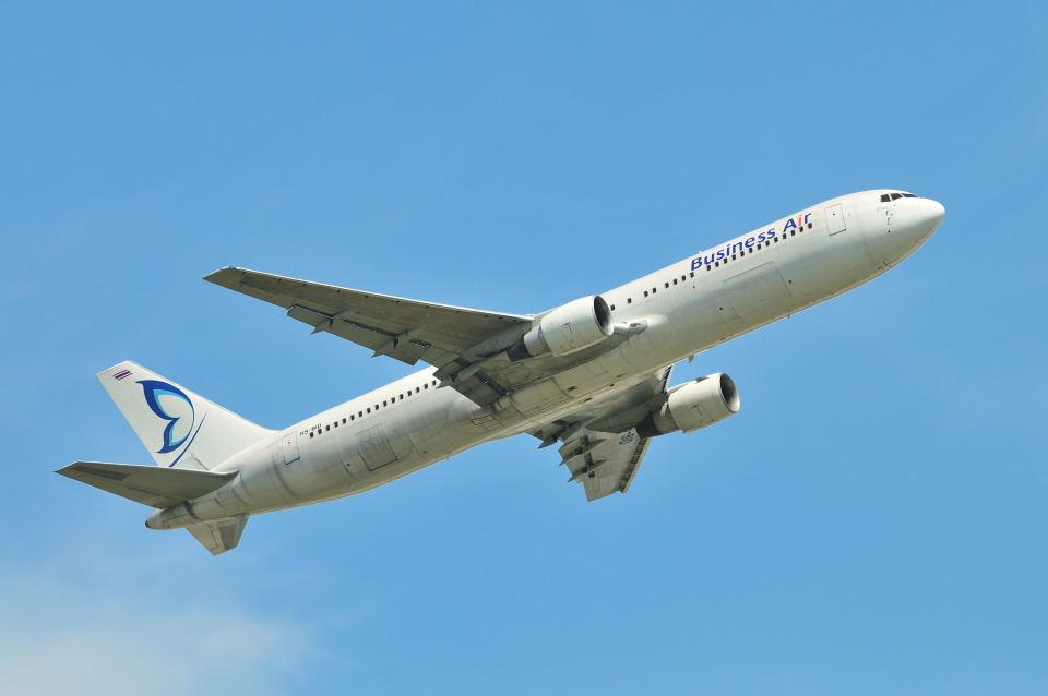 ポン太さんのビジネスエアー Boeing 767-300 (HS-BID) 航空フォト