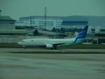 kiyohsさんが、クアラルンプール国際空港で撮影したガルーダ・インドネシア航空 737-8U3の航空フォト(写真)