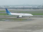 kiyohsさんが、羽田空港で撮影したガルーダ・インドネシア航空 A330-243の航空フォト(写真)