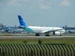 kiyohsさんが、成田国際空港で撮影したガルーダ・インドネシア航空 A330-343Xの航空フォト(写真)