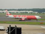 kiyohsさんが、成田国際空港で撮影したインドネシア・エアアジア・エックス A330-343Xの航空フォト(飛行機 写真・画像)
