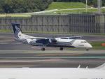 kiyohsさんが、成田国際空港で撮影したオーロラ DHC-8-402Q Dash 8の航空フォト(飛行機 写真・画像)