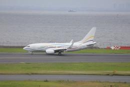 OS52さんが、羽田空港で撮影したSASインスティチュート 737-7BC BBJの航空フォト(飛行機 写真・画像)