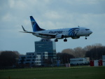 kiyohsさんが、アムステルダム・スキポール国際空港で撮影したエジプト航空 737-866の航空フォト(飛行機 写真・画像)