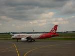 kiyohsさんが、アムステルダム・スキポール国際空港で撮影したアトラスグローバル A320-232の航空フォト(飛行機 写真・画像)
