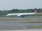 kiyohsさんが、成田国際空港で撮影したターキッシュ・エアラインズ 777-3F2/ERの航空フォト(写真)