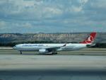 kiyohsさんが、マドリード・バラハス国際空港で撮影したターキッシュ・エアラインズ A330-343Xの航空フォト(飛行機 写真・画像)