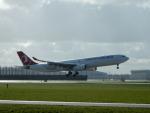 kiyohsさんが、アムステルダム・スキポール国際空港で撮影したターキッシュ・エアラインズ A330-343Eの航空フォト(飛行機 写真・画像)