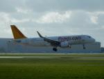 kiyohsさんが、アムステルダム・スキポール国際空港で撮影したペガサス・エアラインズ A320-251Nの航空フォト(飛行機 写真・画像)