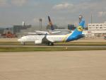kiyohsさんが、フランクフルト国際空港で撮影したウクライナ国際航空 737-8EH/SFPの航空フォト(写真)