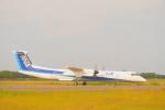 BELL602さんが、新潟空港で撮影したANAウイングス DHC-8-402Q Dash 8の航空フォト(写真)