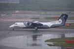 kumagorouさんが、新千歳空港で撮影したオーロラ DHC-8-315Q Dash 8の航空フォト(飛行機 写真・画像)
